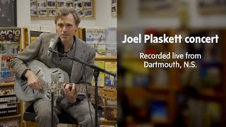 Joel Plasketts full concert with The Globe and Mail YouTube Videos