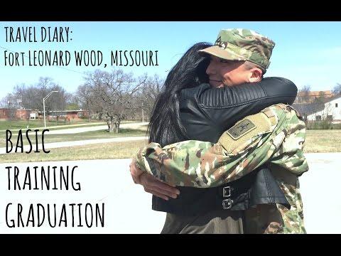 TRAVEL DIARY: Fort Leonard Wood, Missouri Basic Training Graduation | Road Trip Vlog