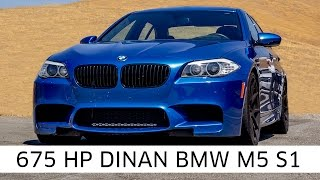 Dinan's 675 HP BMW M5 | Dinan Difference | Roads & Rides