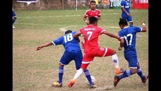 Three star vs nepal police  (4-3) - match highlights !!