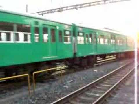 JR East Joban Line series 103 disused train forward