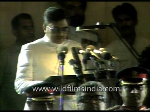 Rajiv Gandhi Posthumously Awarded Bharat Ratna