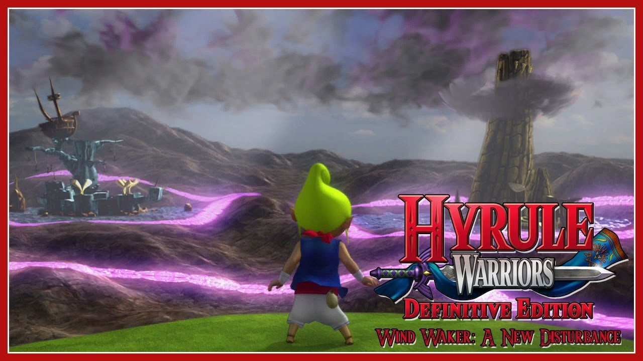 Hyrule Warriors Definitive Edition Wind Waker A New Disturbance Youtube