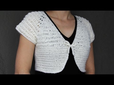 How to crochet a women's short top - video tutorial with detailed instruction with Spanish subtitles