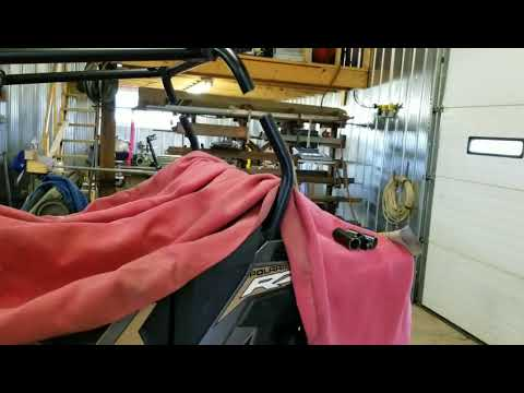 Rzr 900 trail chopped roll cage 2018