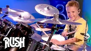 """The Spirit of Radio"" Avery Molek, 7 year old Drummer"
