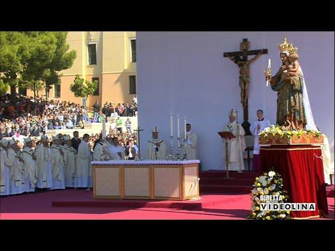 Angelus di Papa Francesco al Santuario di Bonaria ...