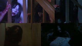 """Каяко спускается с лестницы. Все сцены из серии фильмов """"Проклятие"""""""