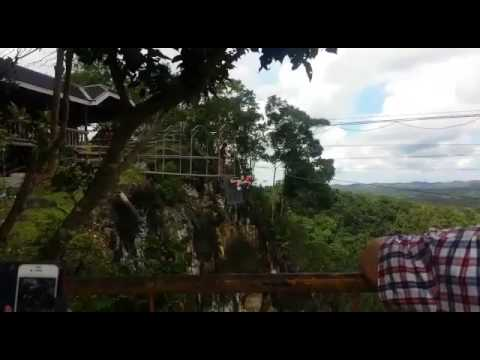 The Plunge Me at danao adventure park philippines march 2017