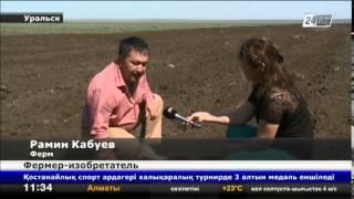 Фермер из Западно-Казахстанской области собрал универсальную скоростную сеялку