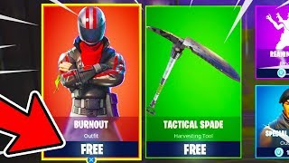 How to Get BURNOUT SKIN FOR FREE in Fortnite! - NEW BURNOUT in Fortnite Battle Royale (NEW OUTFIT)
