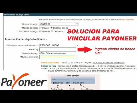 payoneer clickbank First Century Bank