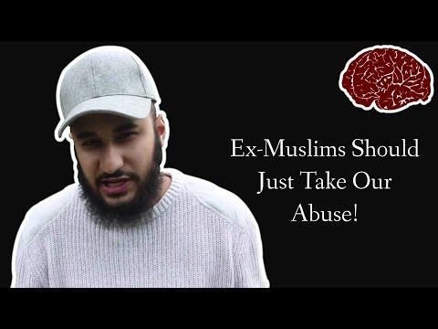 Muslim Fundamentalist Gets Angry At Ex-Muslims Highlighting Abuse (RE: Musa Adnan)
