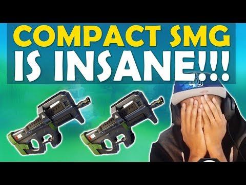 COMPACT SMG IS INSANE | GOODBYE SHOTGUNS - (Fortnite Battle Royale)