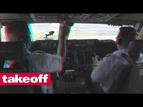 Boeing 747-400 SF Approach Niamey Airport - 3D-Beispiel