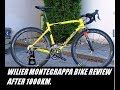 Wilier montegrappa bike review after 1000 km.