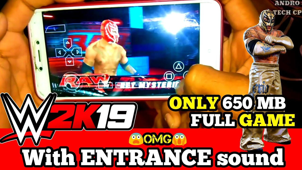 Download [650 MB] DOWNLOAD WWE 2K19 PPSSPP MOD PATCH FOR ANDROID   WITH WWE SUPERSTAR ENTRANCE SOUND  