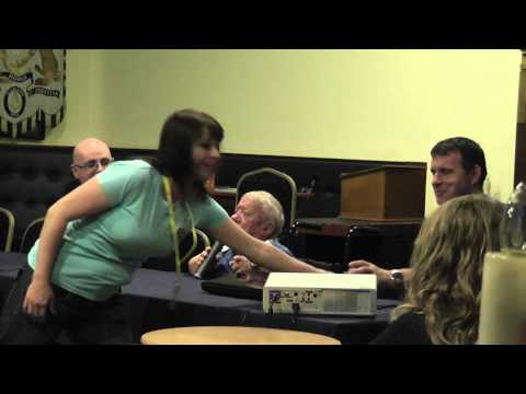 Kenny Baker at UK Games Expo 2012 part 1