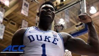 Zion Williamson | ACC Player of the Week