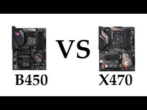 AMD X470 vs B450 Which Motherboard You Should Buy ?