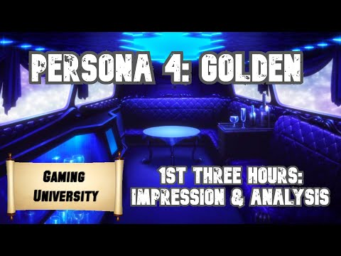 Persona 4: Golden First Impressions   Student Request  