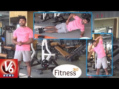 5 Simple Home Exercises To Weight Loss   Trainer Venkat   Fitness 360   V6 News