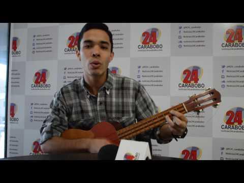 ¡Talento valenciano! Luis Felipe Silva le canta a Noticias24 Carabobo