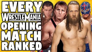 Every WWE WrestleMania Opening Match Ranked From WORST To BEST