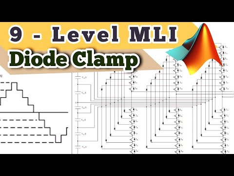 9-Level Diode Clamp Multilevel Inverter (DCMLI) | MATLAB Simulation
