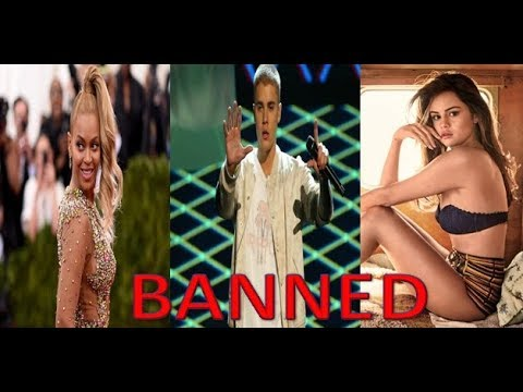 Top 13 FAMOUS Celebrities BANNED From Entire Countries ( Justin Bieber, Selena Gomez, Beyoncé )