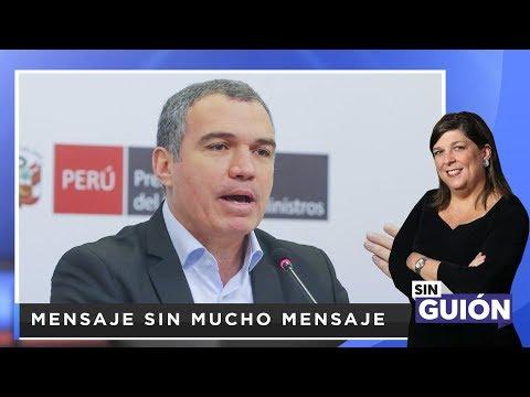 Mensaje sin mucho mensaje  - SIN GUION con Rosa María Palacios