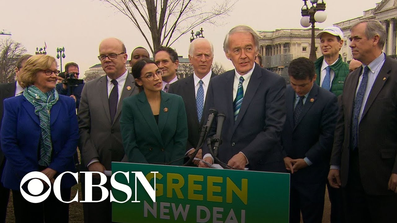 The Green New Deal and the 2020 Democratic presidential race