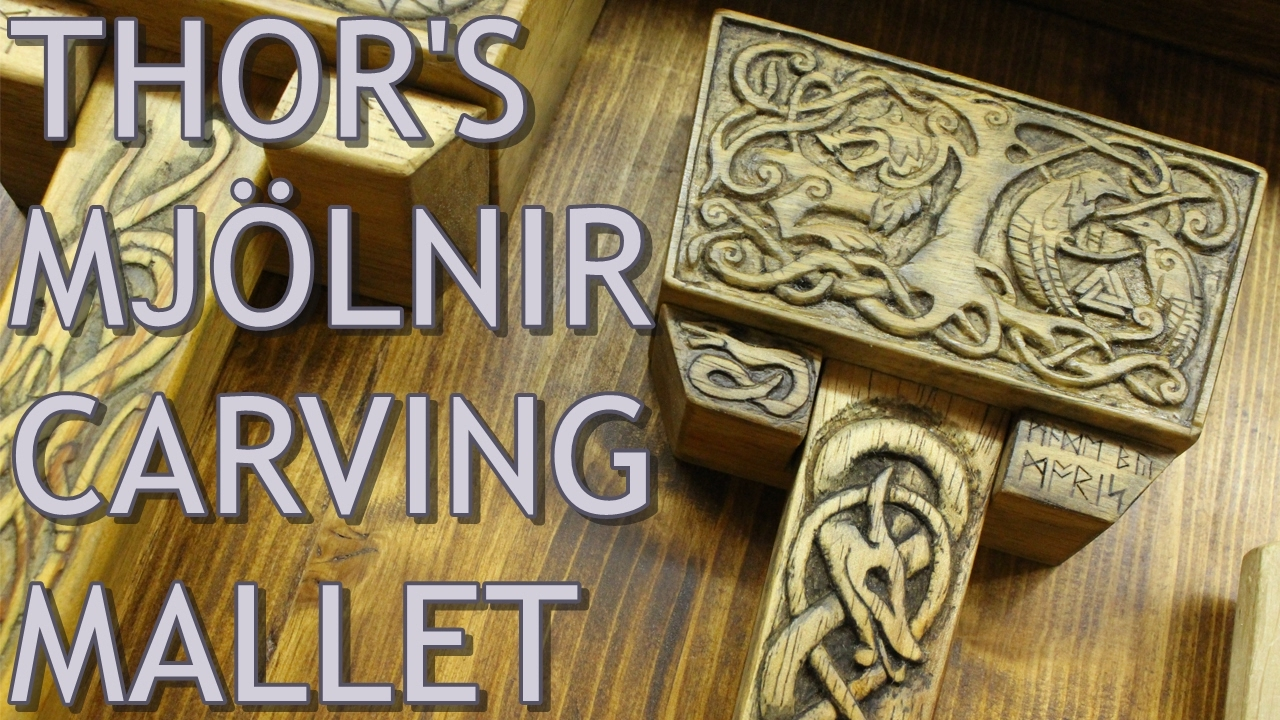 Epic thor s carving mallet youtube