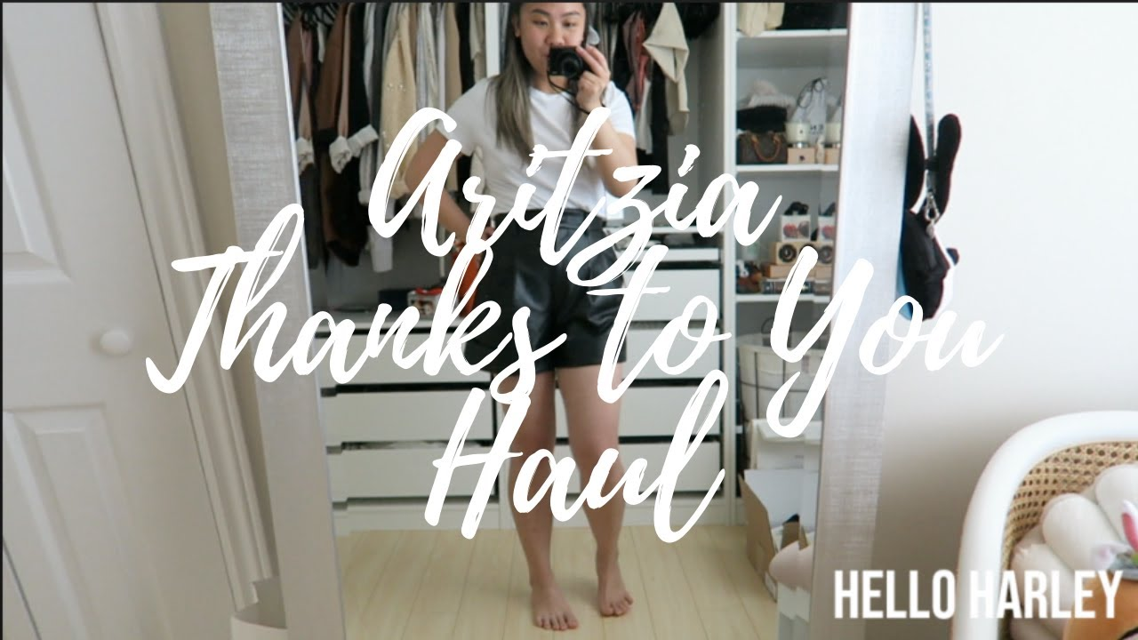 Aritzia Thanks to You Try on Haul!