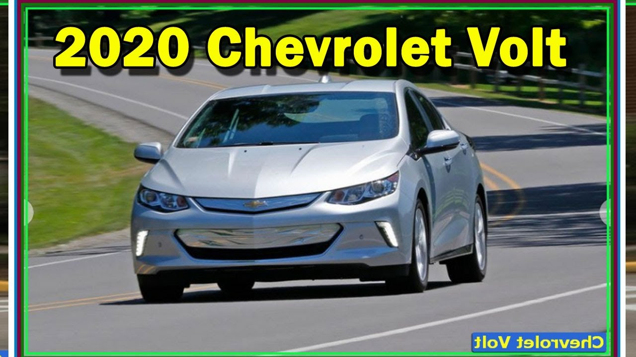 2020 Chevy Volt Review.2020 Chevrolet Volt Premier Review 5 Things To Know About This Fast Charging Plug In Hybrid
