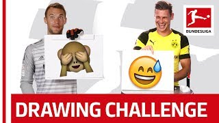 Neuer, Piszczek & Co. Try To Draw - Who Is The Best Artist?