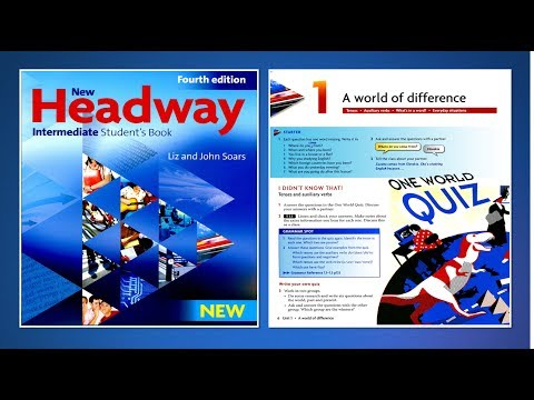 New Headway Intermediate Student's Book 4th : Unit.01 -A world of difference
