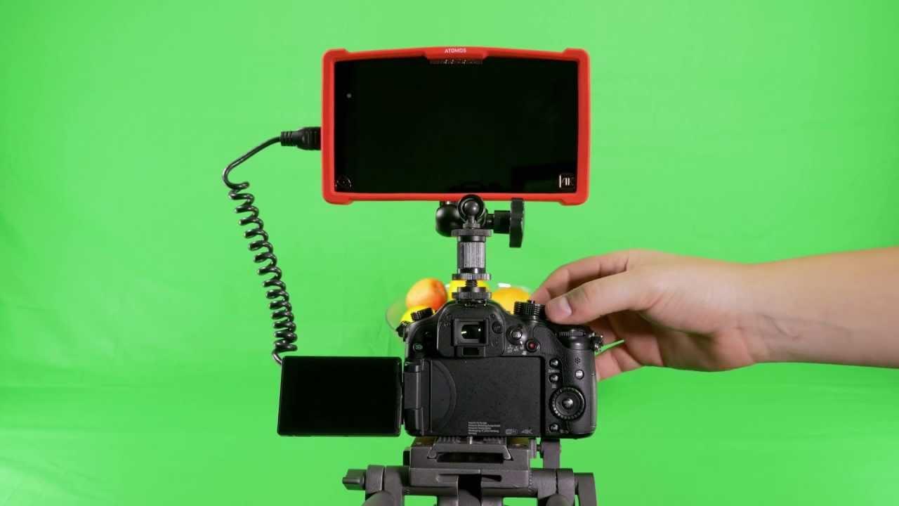 Atomos Ninja Assassin and GH4 Setup Guide - ESV TV - YouTube