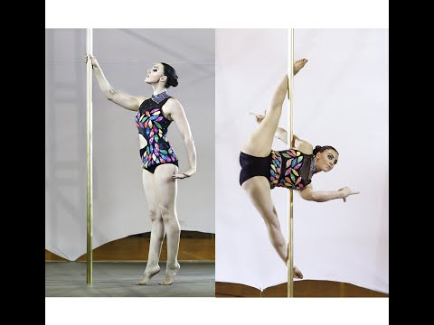 Alessandra Rancan - Vice Campeã - Campeonato Brasileiro de Pole Sports