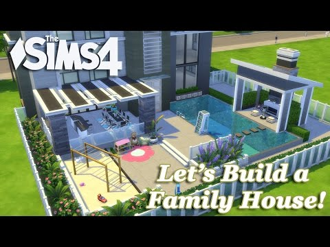 The Sims 4 - Let's build a Family House (Part 3) Realtime