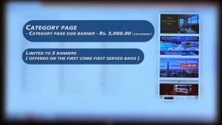 SLT Rainbow Pages Website Advertising 2015/16 -