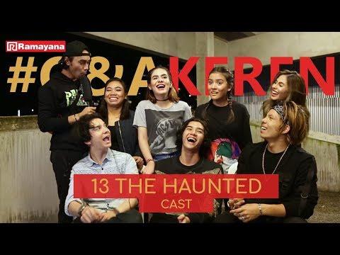 Cerita Horor Megantara Dicolek Hantu Saat Syuting 13 The Haunted