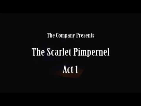 The Scarlet Pimpernel Act 1