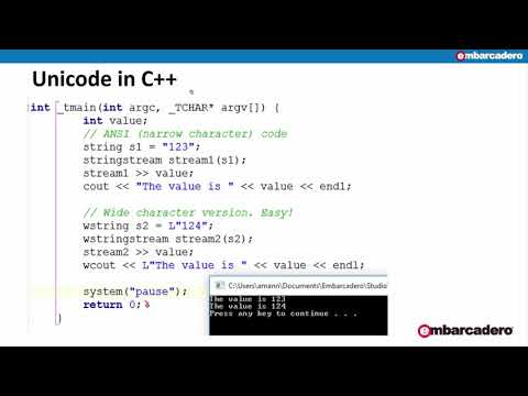 Migrating Your C++Builder Projects To Unicode, With Al Mannarino