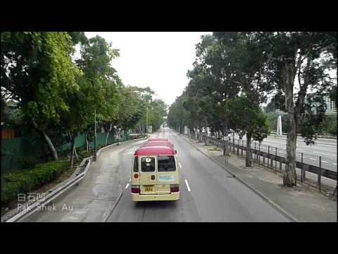 [Hong Kong Bus Ride] 九巴 AD125 @ 76K 元朗(朗屏邨) - 粉嶺(華明邨) [全程行車影片]