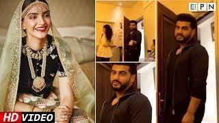 Arjun Kapoor Teasing Sonam About Her Wedding | EPN News