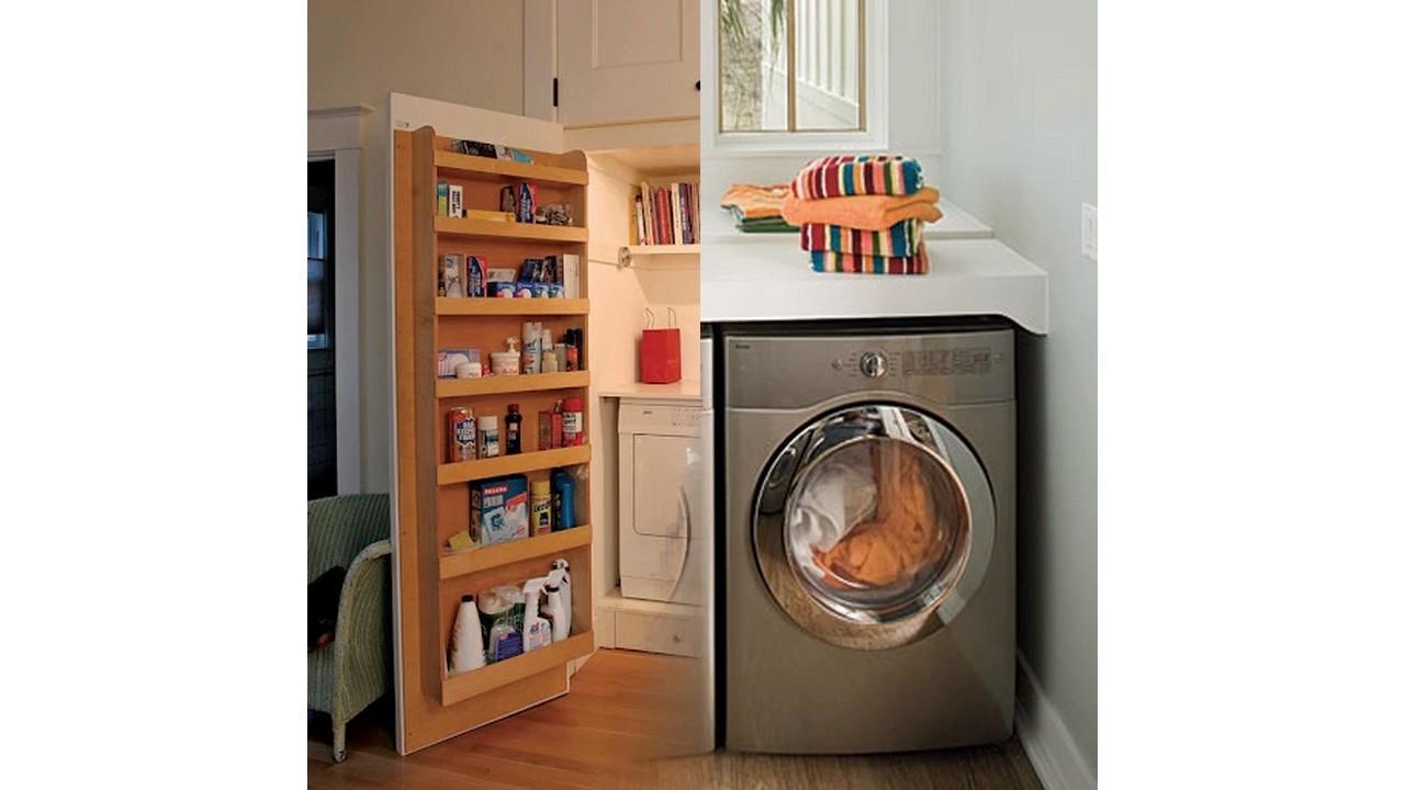 Dise o de la sala de lavander a para espacios peque os for Diseno de libreros para espacios pequenos