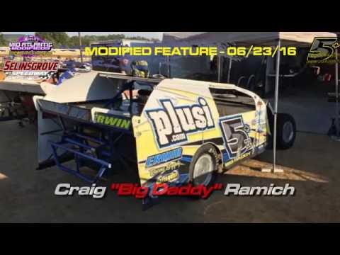 MidAtlantic Modifieds - Selinsgrove Speedway - Feature In-Car - July 23, 2016