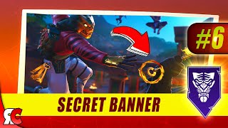 Fortnite | WEEK 6 Secret Banner Location (Season 8 Battlestar/Banner Discovery Loading Screens)