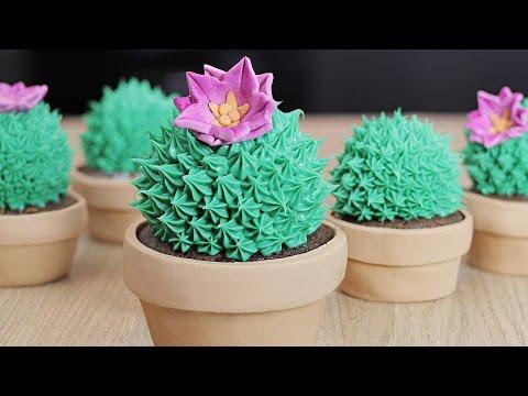 ¿Cupcakes o Cactus? De Chocolate! / Dacosta's Bakery
